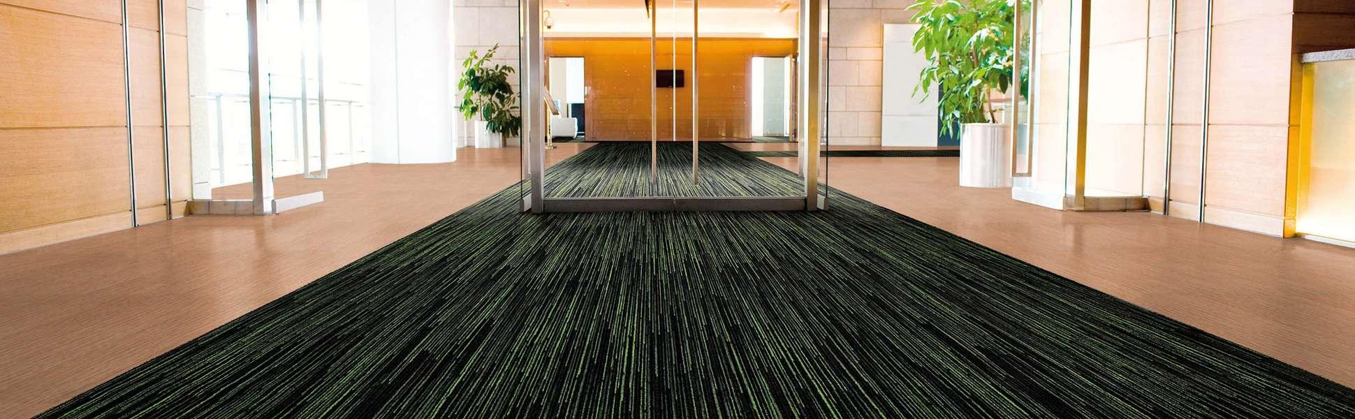Sol textile - Tapis d'entrée - Hall d'entrée